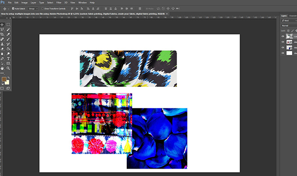 Digital Fabric_Fabric Printing_How to setup multiple images into one file using Adobe Photoshop2