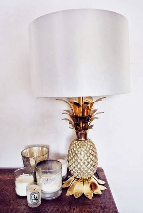 pineapple lampshade