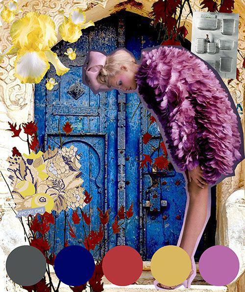 digital fabric printing_digital fabrics_colour trend_fabric printing_fashion print_blue_red_yellow_candy pink_aluminium