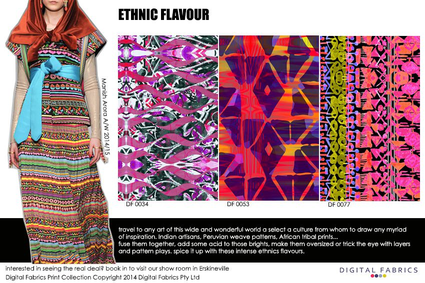 Digital Fabrics_Newsletter_Print Direction_Fashion Print_Textile Printing_Digital Printing_Ethnic Flavours_Tribal Prints_Tribal Patterns