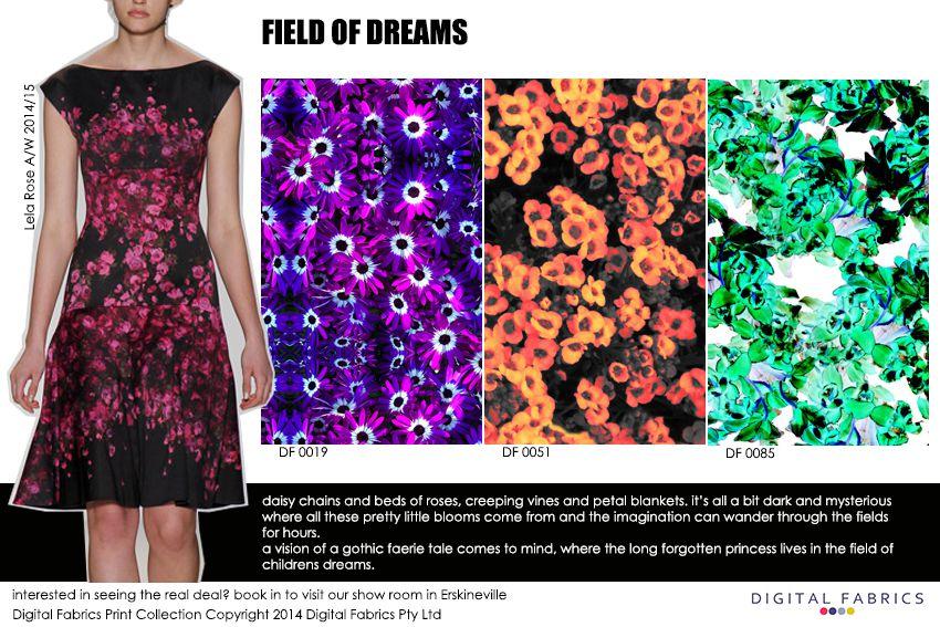 Digital Fabrics_Newsletter_Print Direction_Fashion Print_Textile Printing_Digital Printing_Field of Dreams_Florals_Flowers