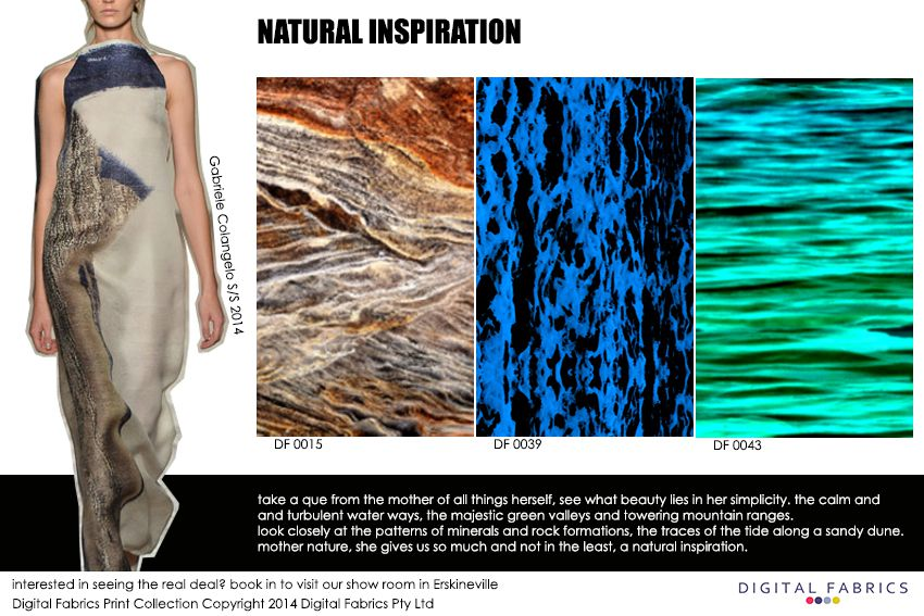 Digital Fabrics_Newsletter_Print Direction_Fashion Print_Textile Printing_Digital Printing_Natural Inspiration_Nature_Mother Nature