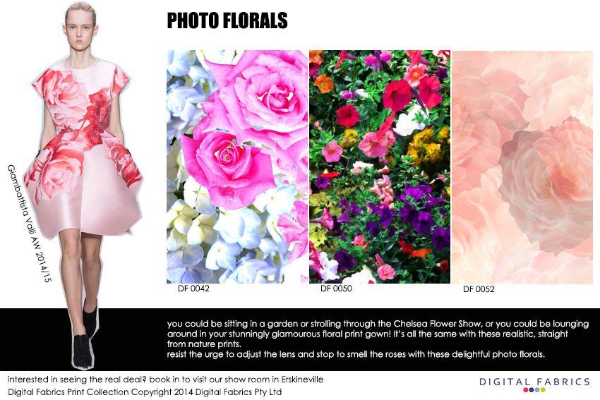 Digital Fabrics_Newsletter_Print Direction_Fashion Print_Textile Printing_Digital Printing_Photo Florals