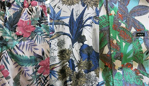 Digital Fabric Printing_Print Trends__Bold Botanicals_Bread & Butter Berlin_Esclusici_Element_RVCA