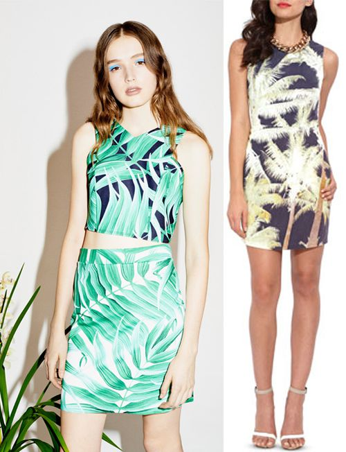 Digital Fabric Printing_Print Trends__Bold Botanicals_Topshop_Wish