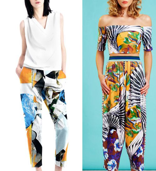 Digital Fabric Printing_Print Trends__Fractured_Cut25Yigal Azrouel_Clover Canyon