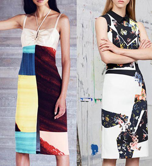 Digital Fabric Printing_Print Trends__Fractured_Rachel Comey_Erdem