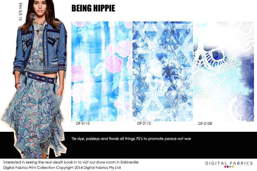 Being Hippie fashion print_Digital Fabrics_Newsletter_Print Direction_Fashion Print_Textile Printing_Digital Printing