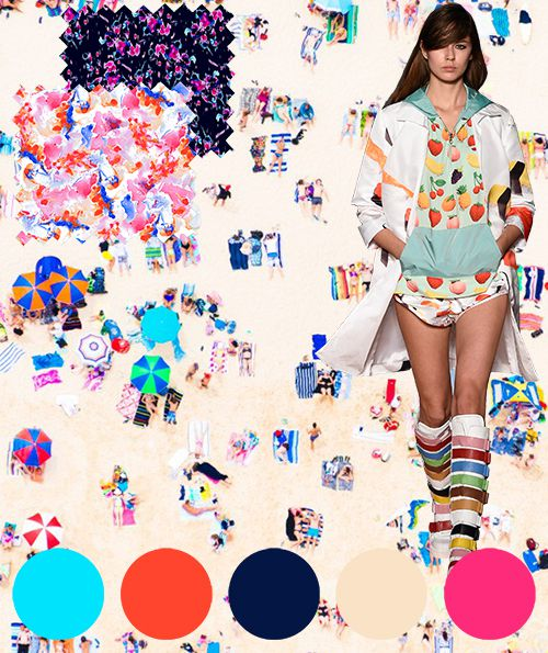 inspiration_summer_colour_digital fabric printing_digital fabrics_colour trend_fabric printing_fashion print_fruits_orange_blue_aqua_pink