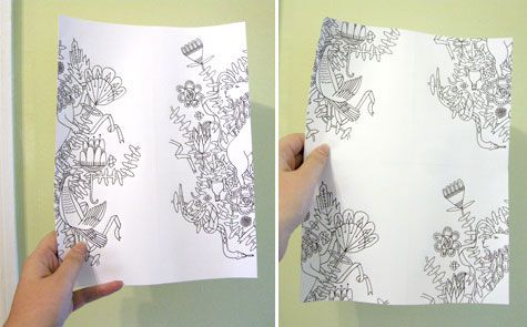 how to draw pretty patterns