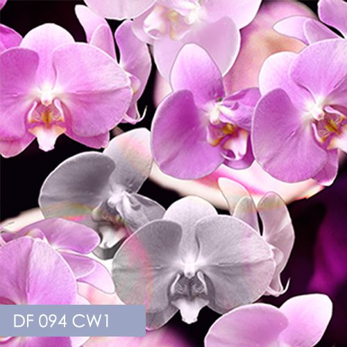 Digital Fabrics, orchid fabric, large orchid fabric print, custom fabric, create your fabric