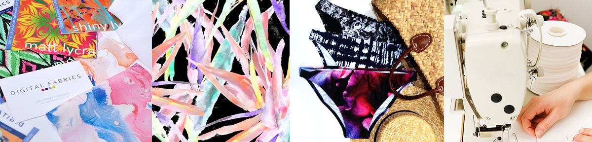 custom bikini printing, fabric printing, lycra fabric printing, print your own bikini bottoms