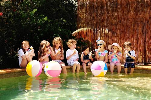 kidswear-recycled-lycra-fabricprint-digitalfabrics-pineapple-pastel-grid-design-designer-australia