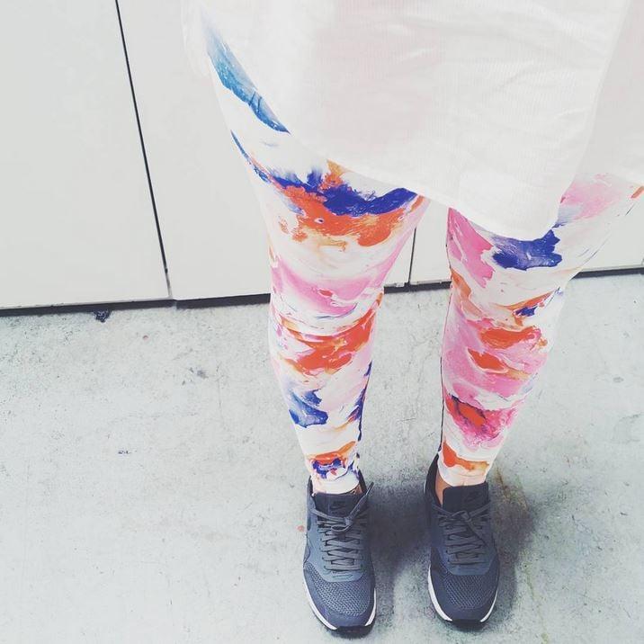 design your own leggings digital fabrics class