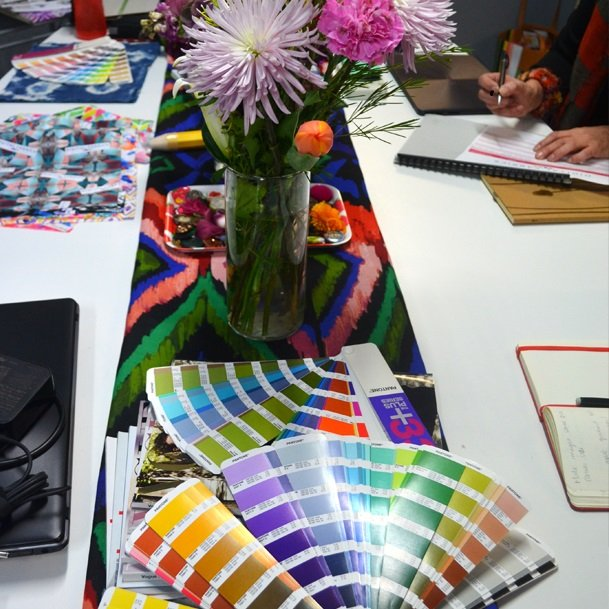 fabric design classes, fabric design workshop sydney, make fabric design, learn fabric design