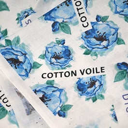 printing on cotton, cotton printing, custom fabric printing