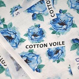 printing on cotton, cotton printing, custom fabric printing