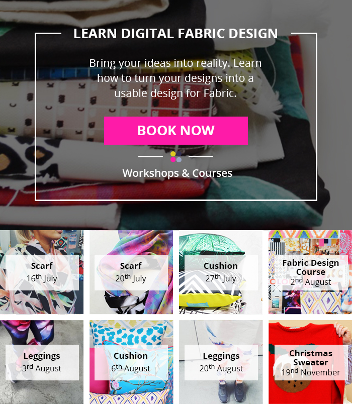 fabric design workshops and classes