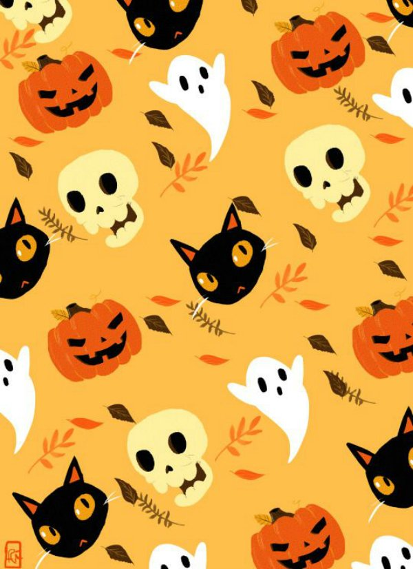 13 Halloween Prints Ideas for Fabric | Digital Fabric ...