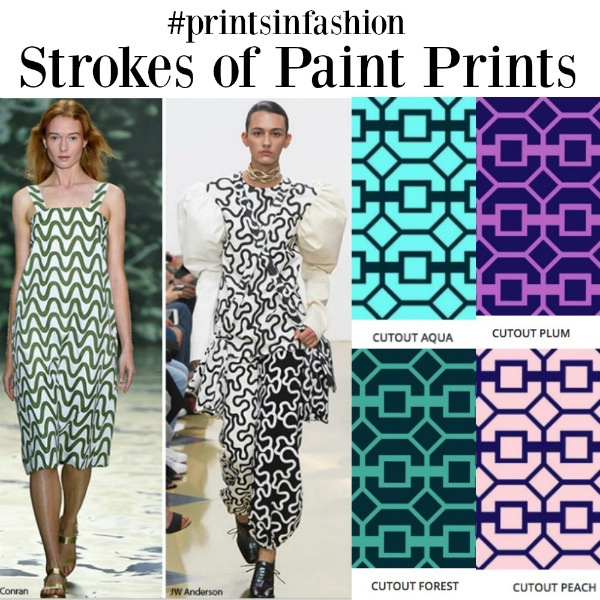prints in fashion Strokes of Paint Prints
