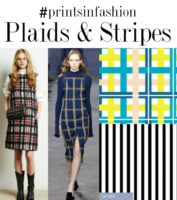 prints in fashion back to school plaid fabric stripe fabric 1