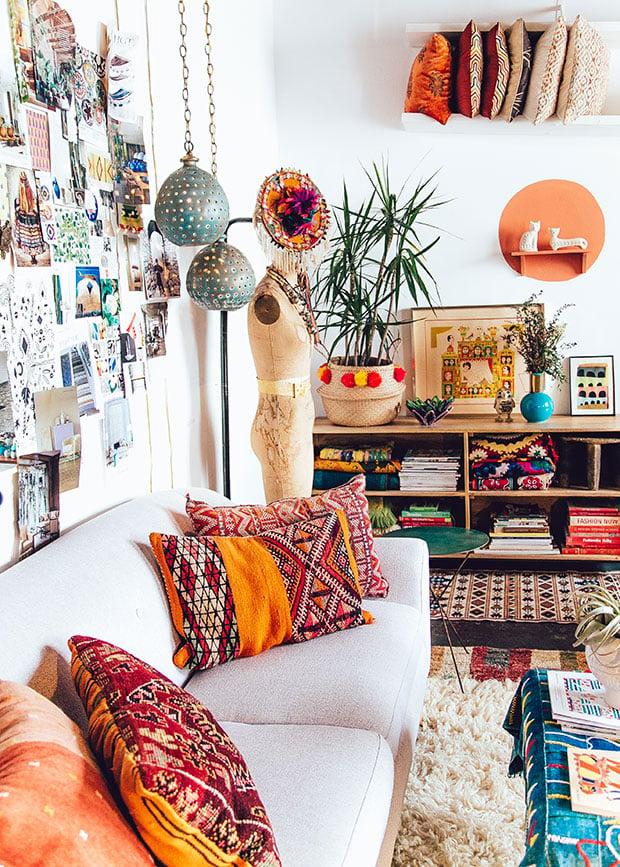 10 inspiring bohemian interiors digital fabrics