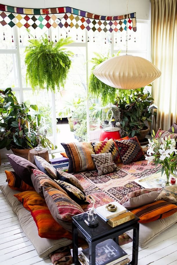10 inspiring Bohemian chic interiors 2