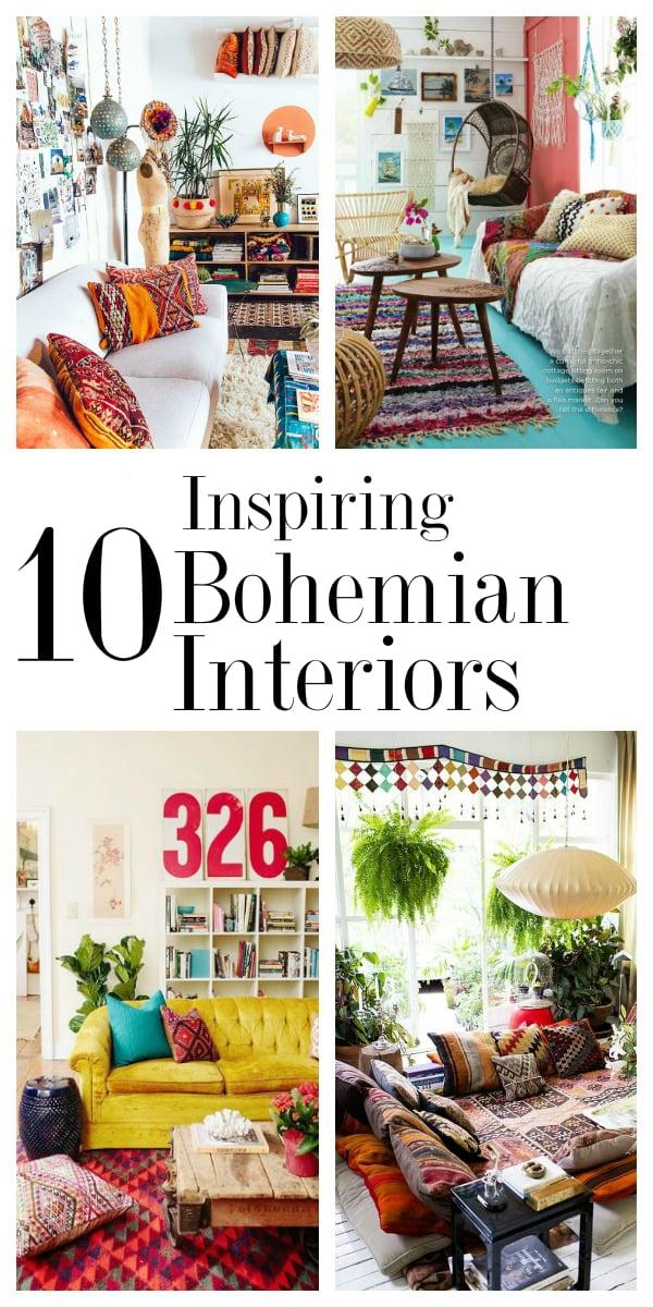 10 Inspiring Bohemian Interiors + 3 Design Ideas | Digital Fabric ...