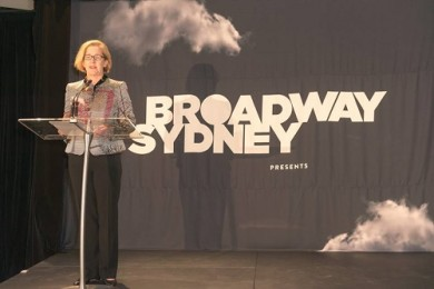 Broadway_banner_event_sydney_westfields_shopping_design_fabric_printing_black_clouds_exclusive_unveiling