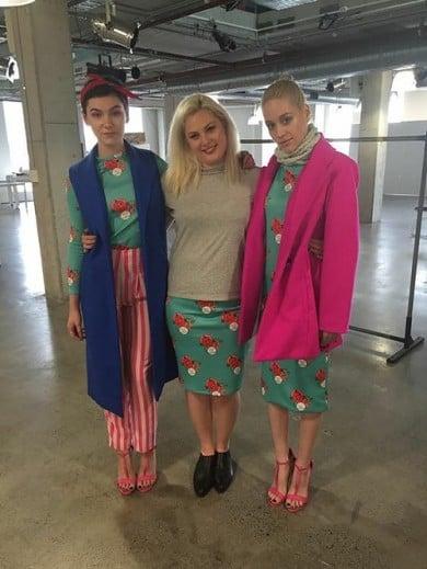 Designer_women_australian_design_fabric_printing_digitalfabrics_turqouise_voteforwomen