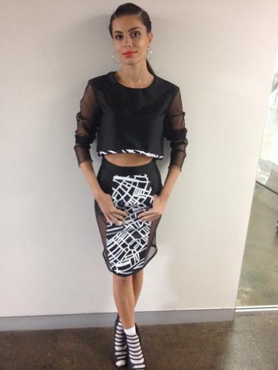 Fabrics_printing_designer_map_black_white_student_australian_fabricprinting_skirt_sheer