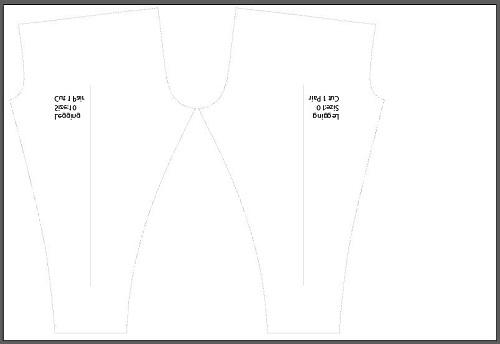 Leggings_ pattern_design_fabric_printing