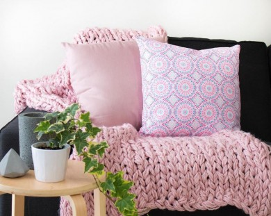 custom cushion moroccan cushion pink cushion digitally printed cushion