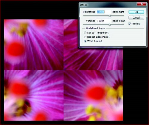how to repeat image pattern in photoshop