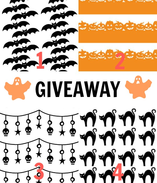 halloween print fabric giveaway