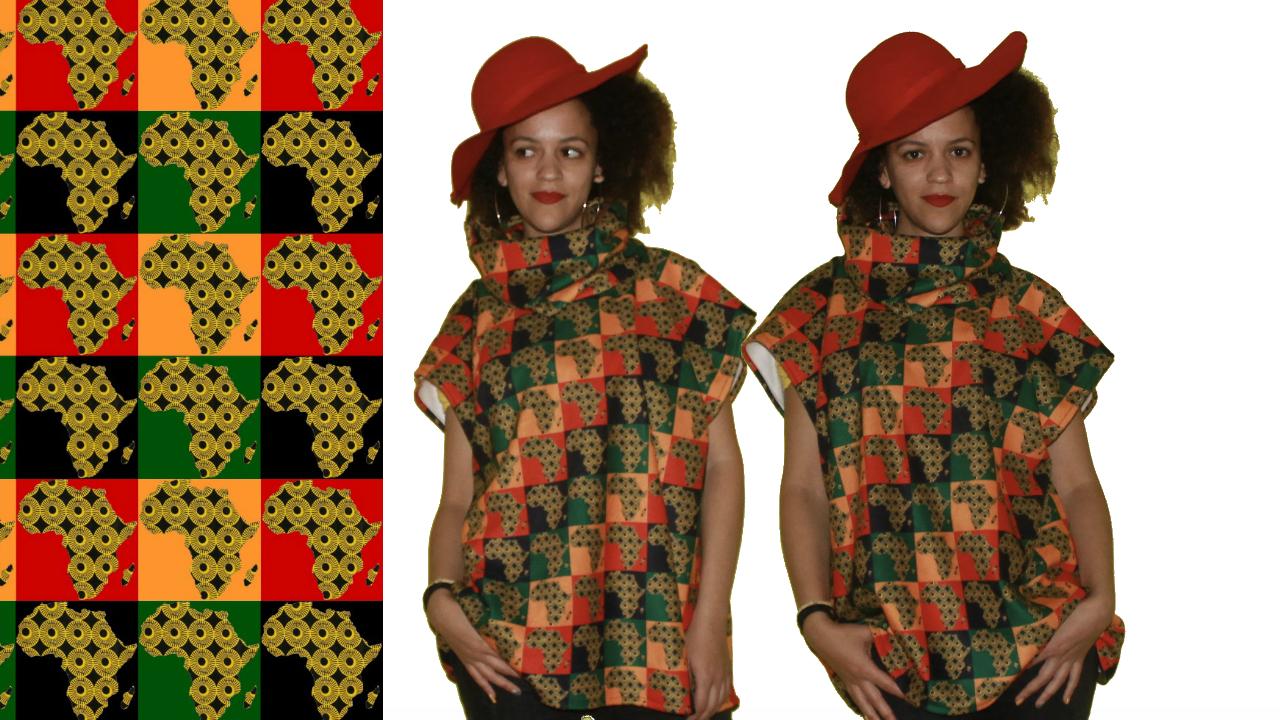 DIY Poncho Sweater - Digital Fabrics, Sydney