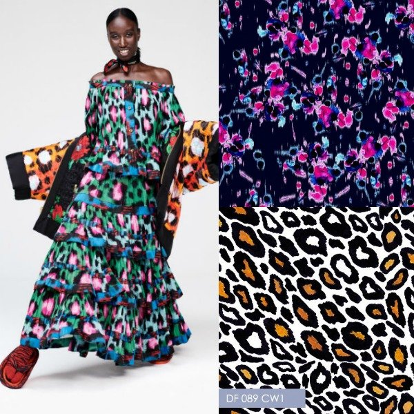 kenzo hm collection animal prints