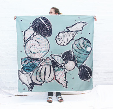 Coquilles beach throw_LR