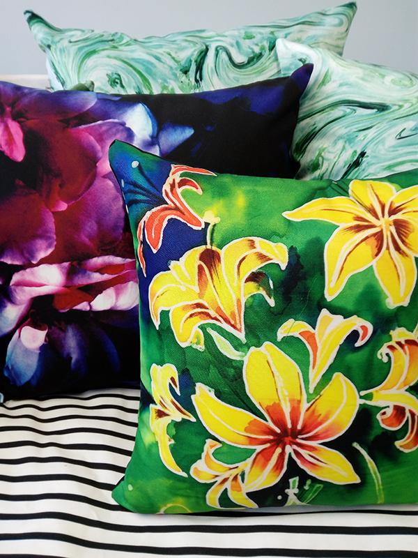 floral cushions_custom cushions_cushion printing_digitalfabrics