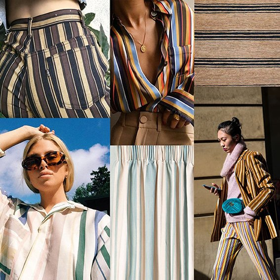 Fabric with Stripes_Custom Fabric Printing_Fabric on Demand_Digital Fabrics_Moodboard