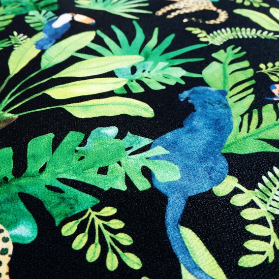Digital Fabrics_custom fabric printing_animalistic innocence_jungle print_dark design_2