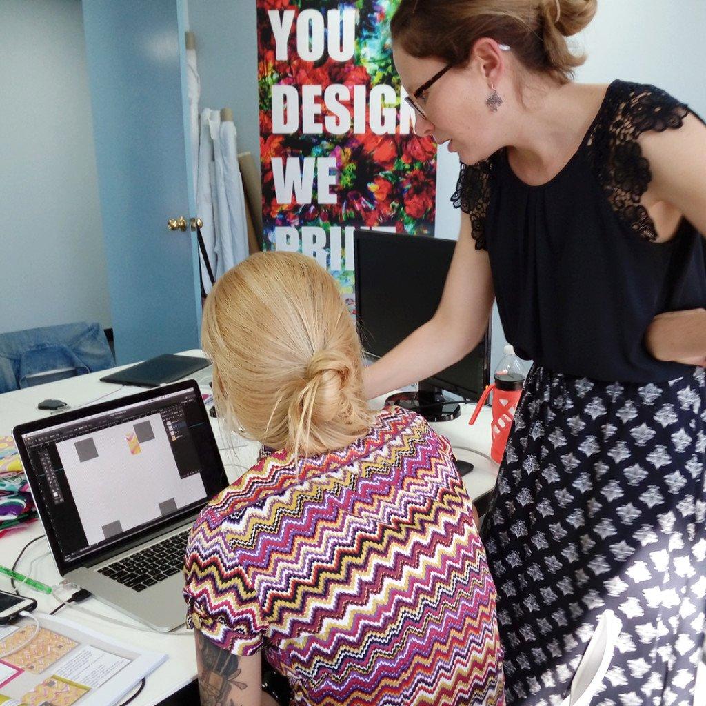 Digital Fabrics_custom fabric printing_2 day design intensive workshop_October 2018_11