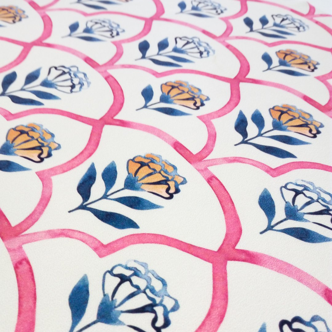 Digital Fabrics_custom fabric printing_Palamporia_Jaipur Pink_2