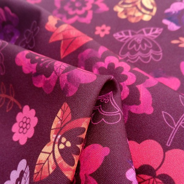 Digital Fabrics_Fabric Shop_Floral Folk prints_Vintage Berry_web_1