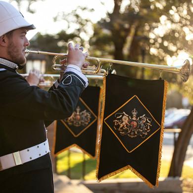 fabric printing_custom fabric_print fabric on banner_Digital Fabrics_custom fabric printing_Fanfare Australia_trumpet banner_1