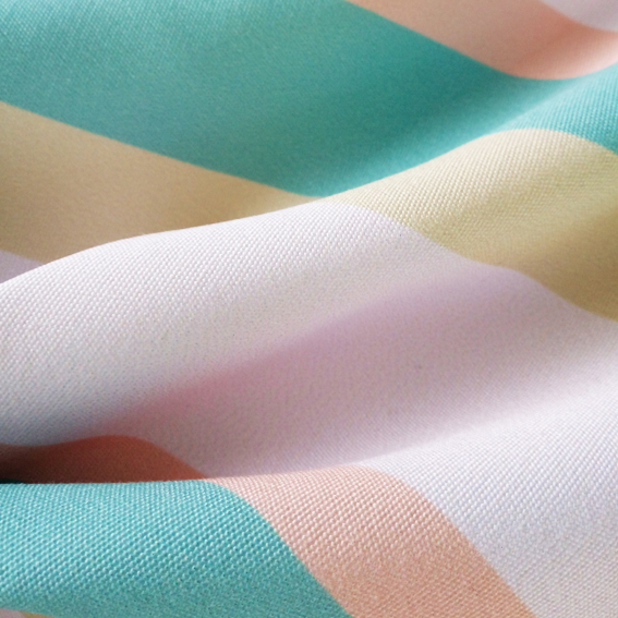 Fabric With Stripes_Custom Fabric Printing_Fabric on Demand_Digital Fabrics_Sorbet Dream
