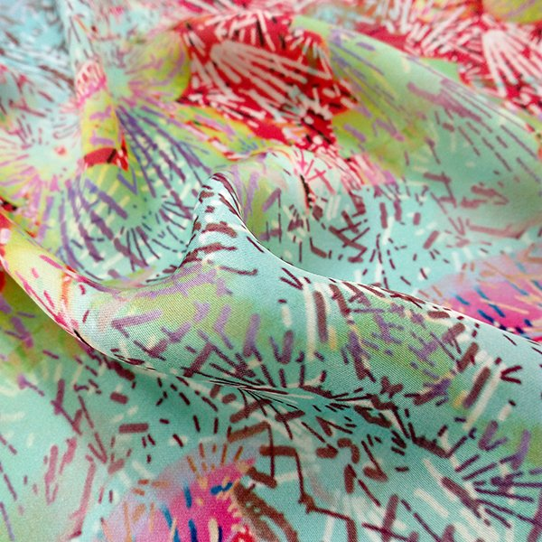 Digital Fabrics_custom fabric printing_fabric shop_texture design_Brilliant Cactus_1