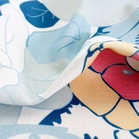 Printing on linen fabric