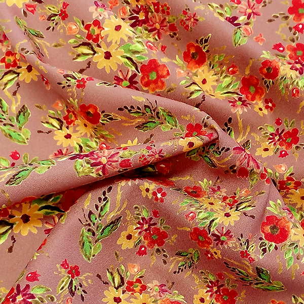 Digital Fabrics_custom fabric printing_hand painted florals_1