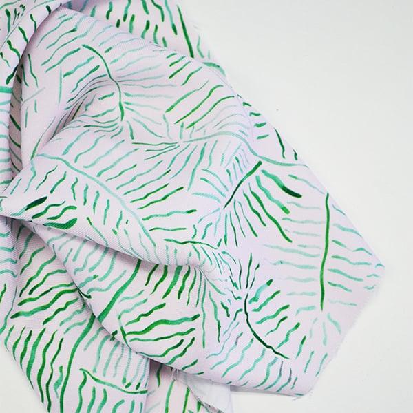 Digital Fabrics custom fabric printing fabric design fashion prints designer fabric fern fabric